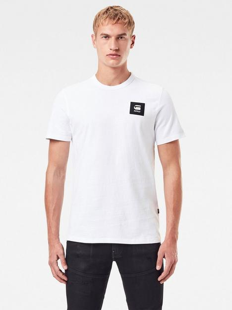 g-star-raw-badge-logo-t-shirt-white