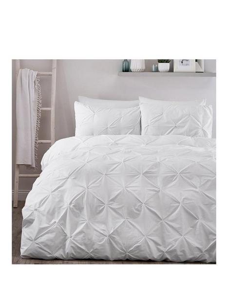 serene-lara-single-duvet-cover-and-pillowcase-ndash-white