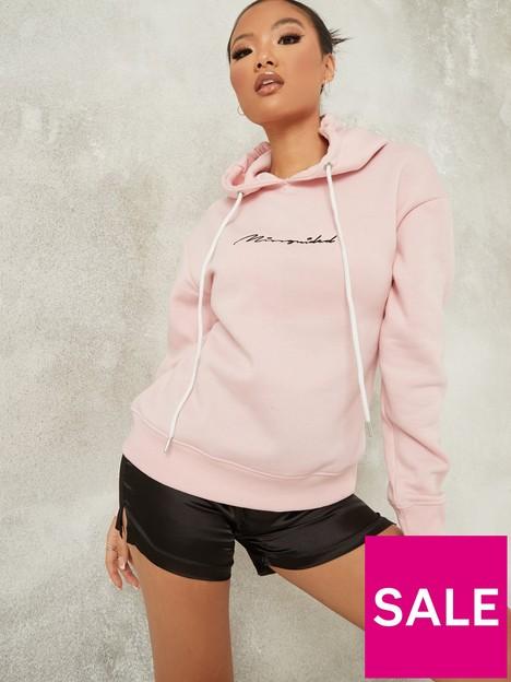 missguided-missguided-script-seam-detail-hoodie-pink