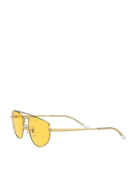 ray-ban-sunglasses-shiny--nbspgold