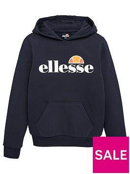 ellesse-junior-boys-core-jero-overhead-hoodie-navy