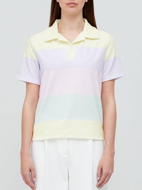 olivia-rubin-simone-towelling-colour-block-top-multi