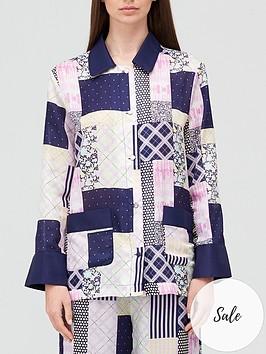 olivia-rubin-molly-patchwork-oversized-shirt-blue