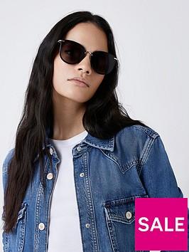 river-island-retro-sunglasses-black
