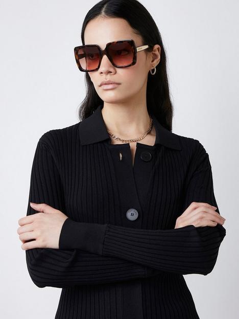 river-island-oversizednbspsquare-sunglasses-tort