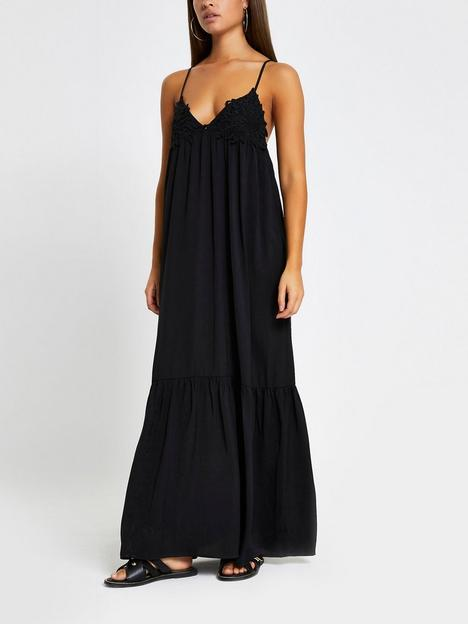 river-island-applique-beach-maxi-dress-black