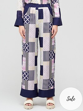 olivia-rubin-sammy-patchwork-wide-leg-trousers-blue