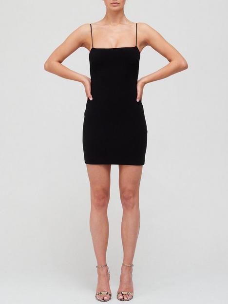 bec-bridge-fleur-mini-dress-black