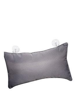 aqualona-waffle-grey-bath-pillow