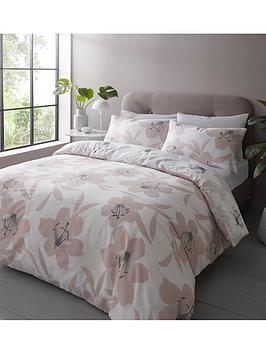 catherine-lansfield-lily-duvet-set-db