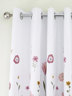 catherine-lansfield-wild-flowers-eyelet-curtains