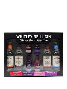 whitley-neill-gin-mixologist-4-x-5cl-miniatures-with-4-xnbsp200ml-double-dutch-mixers