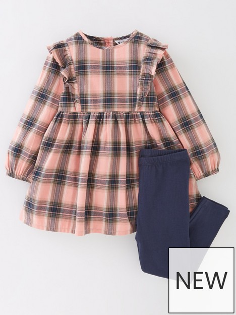 mini-v-by-very-girls-check-dress-and-legging-set-multi