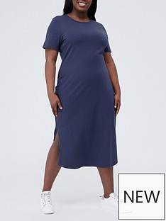 v-by-very-curve-midi-crew-neck-t-shirt-dress-with-stretch-navynbsp