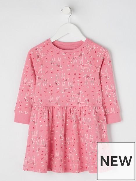 mini-v-by-very-girls-essentials-unicorn-sweat-dress-pink