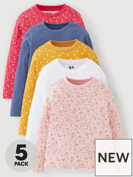 mini-v-by-very-girls-5-packnbspfloral-long-sleevenbspt-shirt-multi