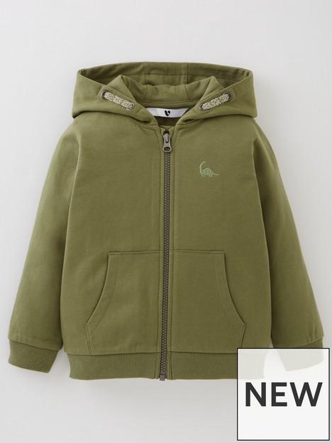 mini-v-by-very-boys-essential-zip-through-hoodie-khaki