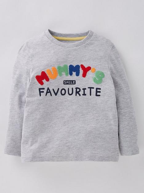 mini-v-by-very-boysnbspmummys-favourite-long-sleevenbspt-shirt-greynbsp