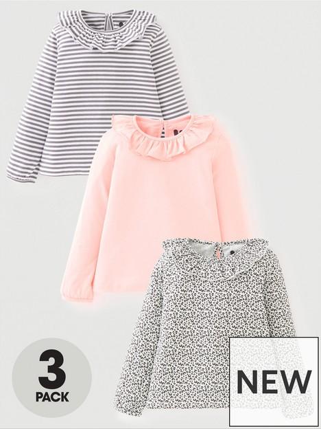 mini-v-by-very-girls-3-packnbspfrill-collar-long-sleeve-t-shirt-multi