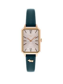 radley-sqaure-dial-navy-strap-watch