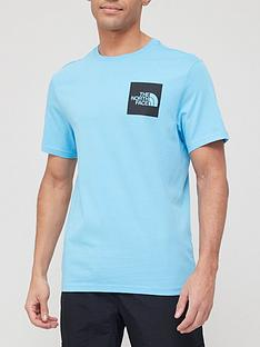 the-north-face-short-sleeve-fine-t-shirt-light-blue