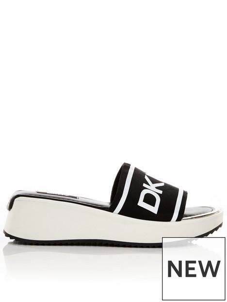 dkny-mandynbspsport-sandal--nbspblackwhite