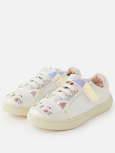 accessorize-girls-cat-trainers-multi