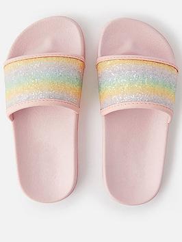 accessorize-girls-glitter-sliders-multi