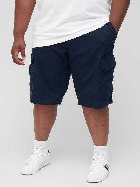 tommy-hilfiger-tommy-hilfiger-big-tall-john-cargo-shorts-with-belt