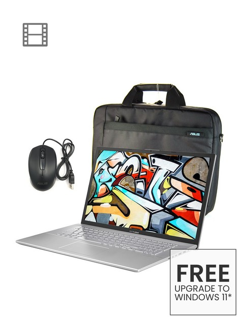 asus-vivobook-17nbspx712ja-bx353t-laptop-173in-hdnbspintel-core-i3nbsp8gb-ramnbsp1tb-hddnbspwith-bag-mouse-and-optional-microsoft-365-family-15nbspmonths-silver