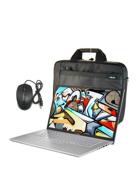 asus-vivobook-x712ja-bx353t-intel-core-i3-8gb-ram-1tb-hdd-17in-hd-laptop-with-bag-mouse-and-optional-microsoft-365-family-15-month-subscription-silver