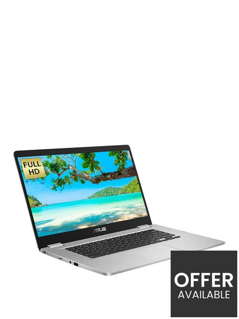 asus-chromebook-c523na-a20408-laptop-156in-fhd-intel-celeronnbsp4gb-ramnbsp64gb-storage-optional-microsoft-365-family-15-monthsnbsp--silver