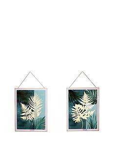arthouse-set-of-2-fern-hanging-prints