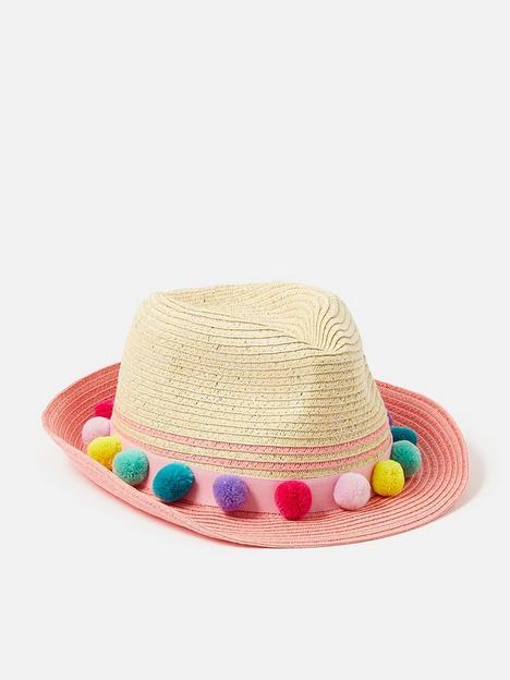 accessorize-girls-pom-pom-hat-multi