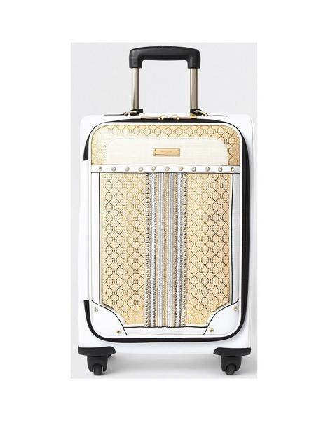 river-island-gold-weave-suitcase