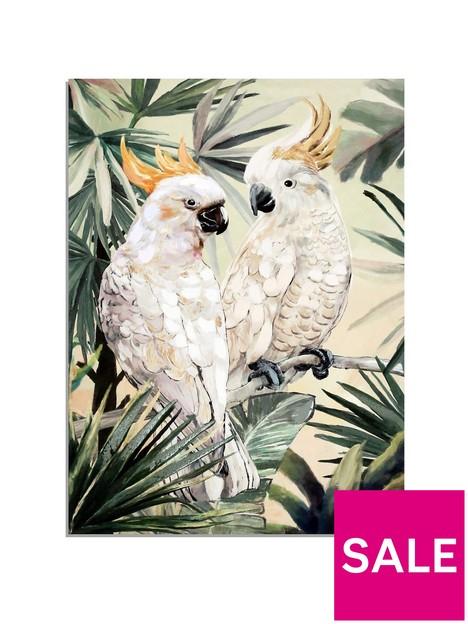 arthouse-hand-painted-cockatoo-canvas