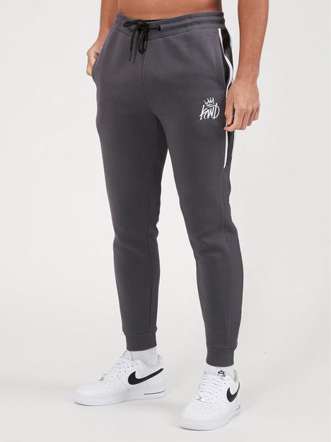 kings-will-dream-mens-jogging-bottoms-grey