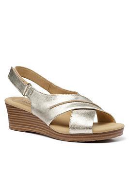 hotter-bali-wedge-sandals-gold