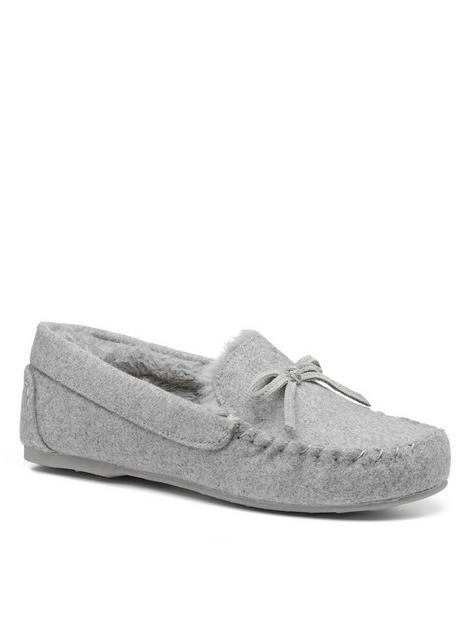hotter-cherish-slipper-grey