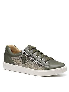 hotter-chase-wide-fit-trainer-evergreen