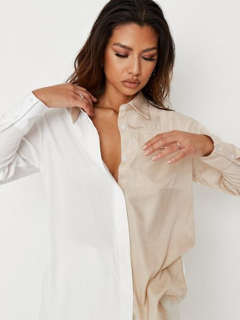 missguided-missguided-spliced-utility-shirt-multi