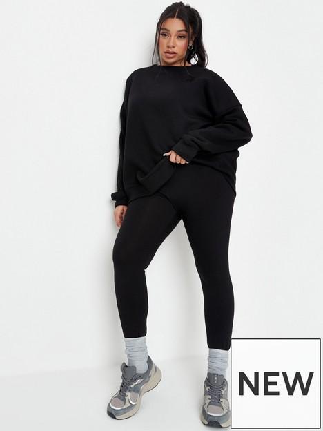 missguided-plus-missguided-plus-oversized-sweat-and-legging-set-black