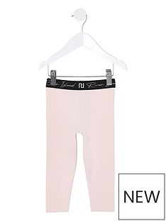 river-island-mini-mini-girls-waistband-legging-pink