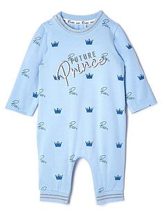 river-island-baby-baby-boys-future-prince-babygrow--nbspblue