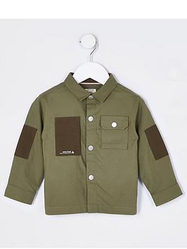 river-island-mini-boys-pocket-shirt-khaki