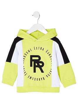 river-island-mini-boys-colour-block-hoodie--nbsplime