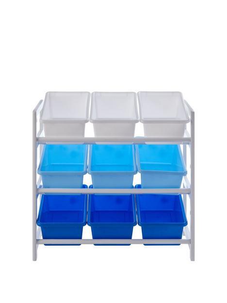 premier-housewares-childrensnbsp3-tier-storage-unit-bluewhite