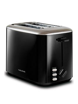 Morphy Richards Morphy Richards Equip 2 Slice Toaster - Black
