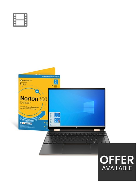 hp-spectre-14-ea0007na-intel-evo-core-i5-1135g7-8gb-ram-512gb-ssd-13in-fhd-laptop-with-intel-iris-xe-graphics-including-norton-360nbspwith-optional-microsoft-365-family-15-monthsnbsp--black