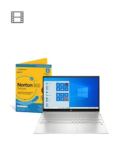 hp-pavilion-15-eh0007na-amd-ryzen-3-8gb-ram-256gb-ssd-15in-fhd-touchscreen-laptop-including-norton-360-with-optional-microsoft-365-family-15-monthsnbsp--silver